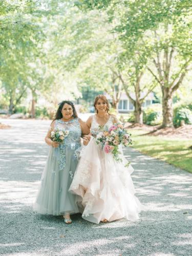 Ashley + Mother Heading to the Aisle