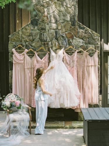 Hanging Dresses w:Ashley