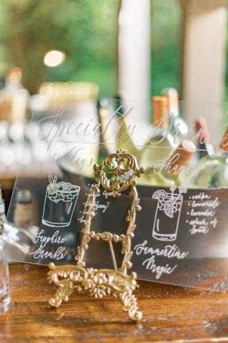 Specialty Drink Signage