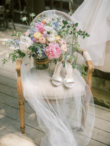 Veil + Shoes