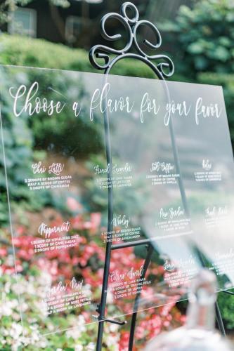 Wedding Favors 3 - Signage